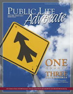 Advocate Volume 2 Issue 1 Cover